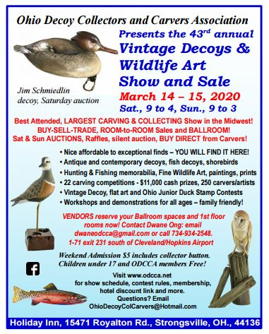 43rd Decoy & Wildlife Show and Sale